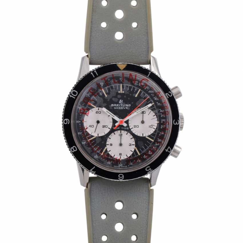 BREITLING Top Time Jumbo Vintage Chronograph watch, Ref. 1765, CA. 1960s. - photo 1