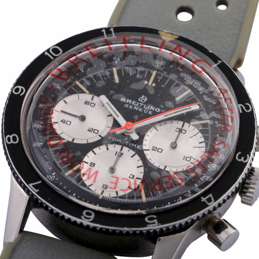 BREITLING Top Time Jumbo Vintage Chronograph watch, Ref. 1765, CA. 1960s. - photo 5