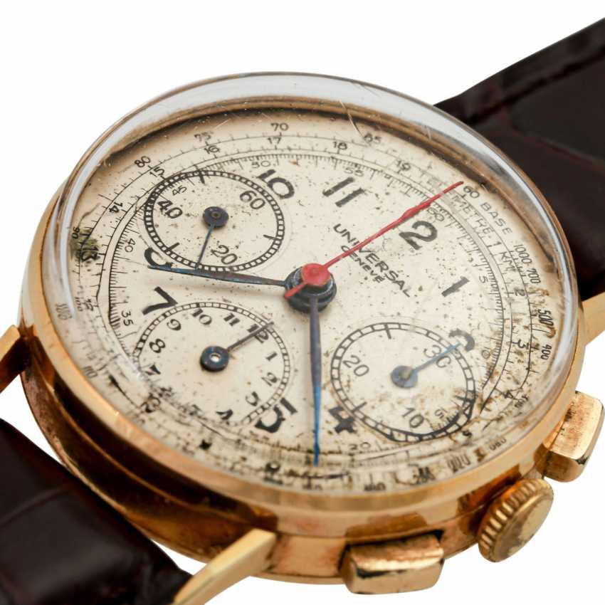 UNIVERSAL GENEVE Vintage Chronograph men's watch, CA. 1950s. - photo 5