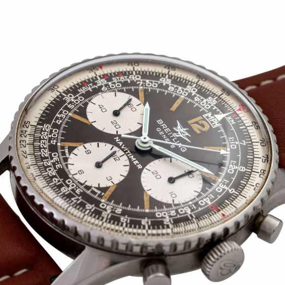 BREITLING Navitimer Vintage Chronograph watch, Ref. 806, CA. 1960/70s. - photo 5