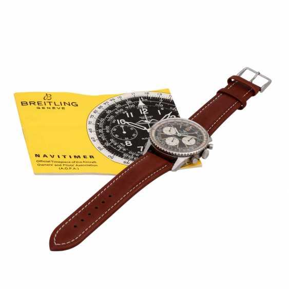 BREITLING Navitimer Vintage Chronograph watch, Ref. 806, CA. 1960/70s. - photo 6