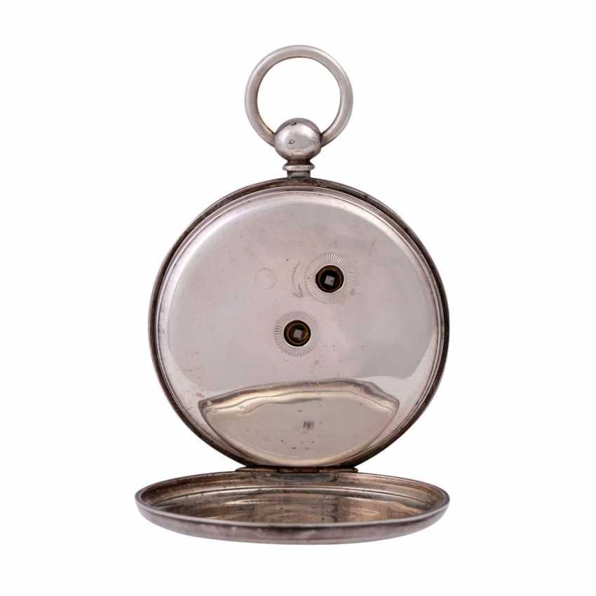 VICTOR KULLBERG pocket watch, ENGLAND, 19th century. Century., Housing, Silver. - photo 3