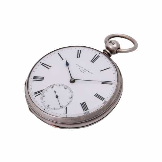 VICTOR KULLBERG pocket watch, ENGLAND, 19th century. Century., Housing, Silver. - photo 5