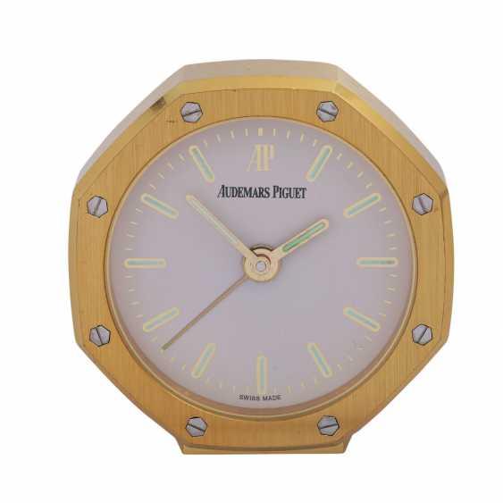AUDEMARS PIGUET Royal Oak table clock with alarm clock. - photo 1