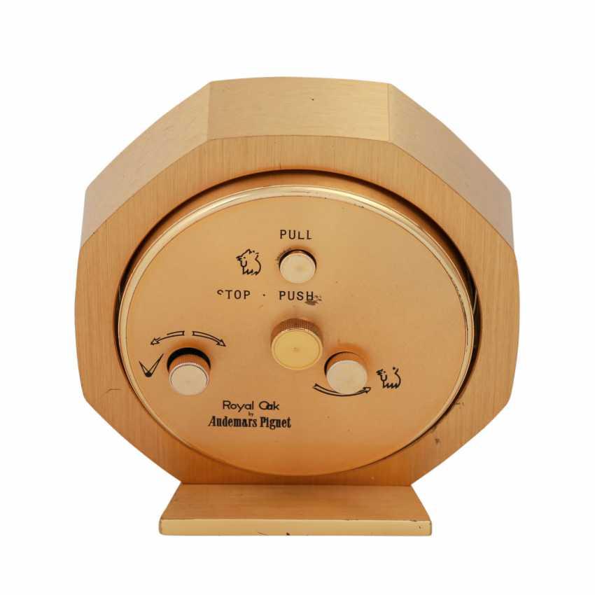 AUDEMARS PIGUET Royal Oak table clock with alarm clock. - photo 2