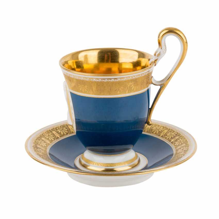 KPM portrait Cup with saucer 'königin Luise', after 1913. - photo 2