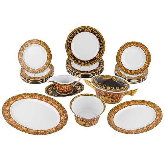 ROSENTHAL meets VERSACE dining service for 6 persons, 'Medusa', 21. Century. - photo 1