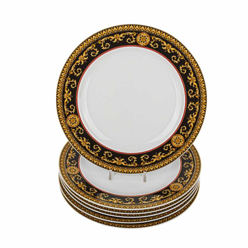 ROSENTHAL meets VERSACE dining service for 6 persons, 'Medusa', 21. Century. - photo 3