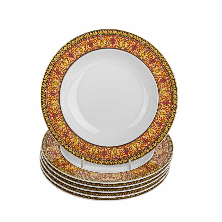 ROSENTHAL meets VERSACE dining service for 6 persons, 'Medusa', 21. Century. - photo 4