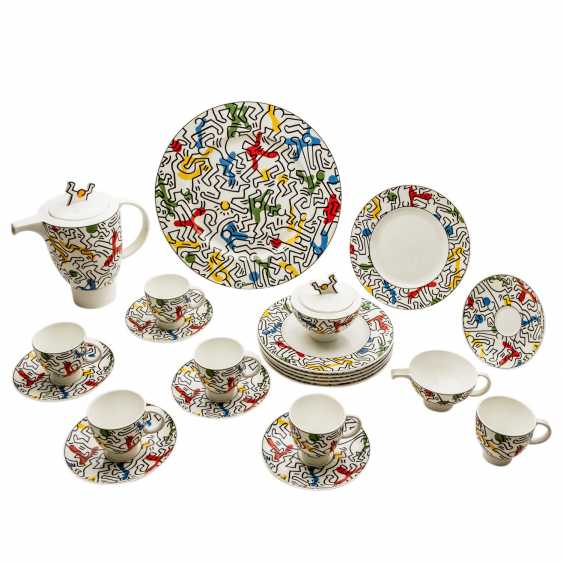 """VILLEROY&BOCH coffee service for 6 persons """"Spirit Of Art No. 1"""", 20. Century - photo 1"""