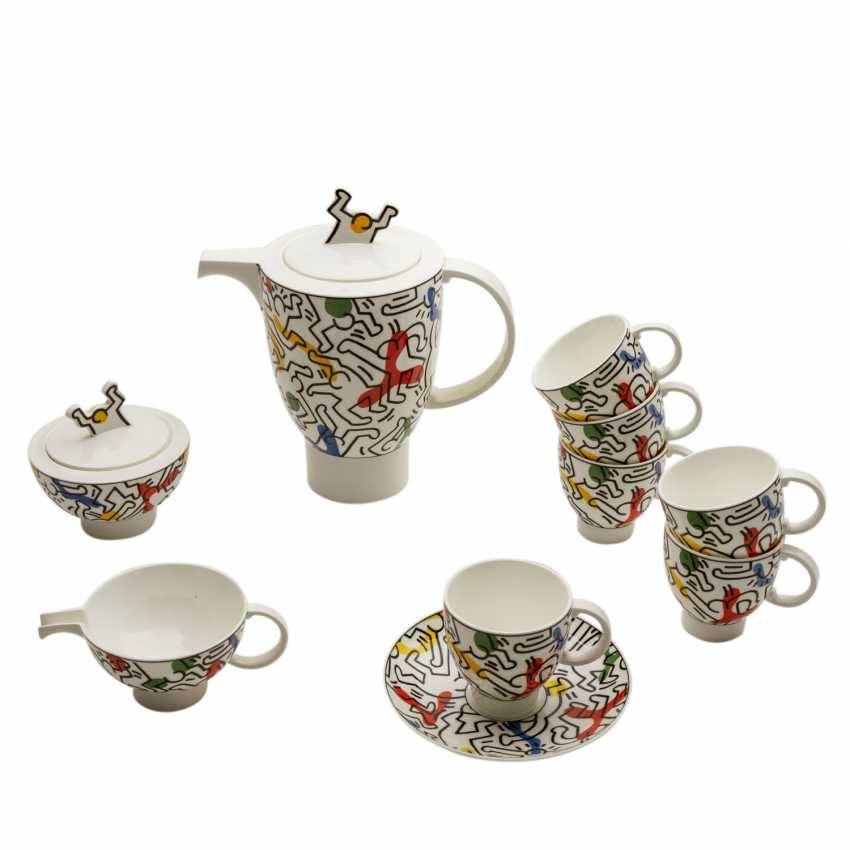 """VILLEROY&BOCH coffee service for 6 persons """"Spirit Of Art No. 1"""", 20. Century - photo 3"""