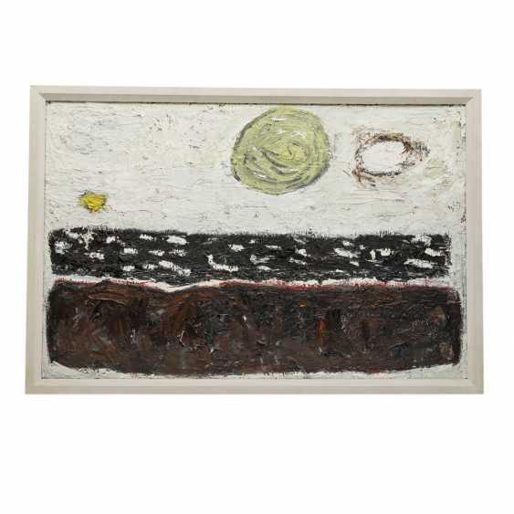 """MÜLLER, RUDOLF (Stuttgart 1903-1969), """"sun - moon - earth"""", - photo 2"""