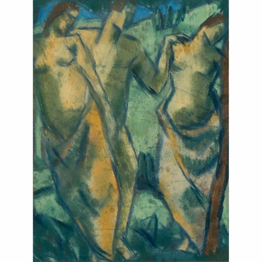 """DEICHER, LUISE (1891-1973), """"bather"""", - photo 1"""