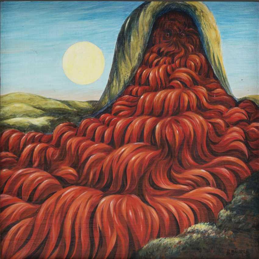 "BÄURLE, HANS (geb. 1931), ""God's Volcano"", - photo 1"