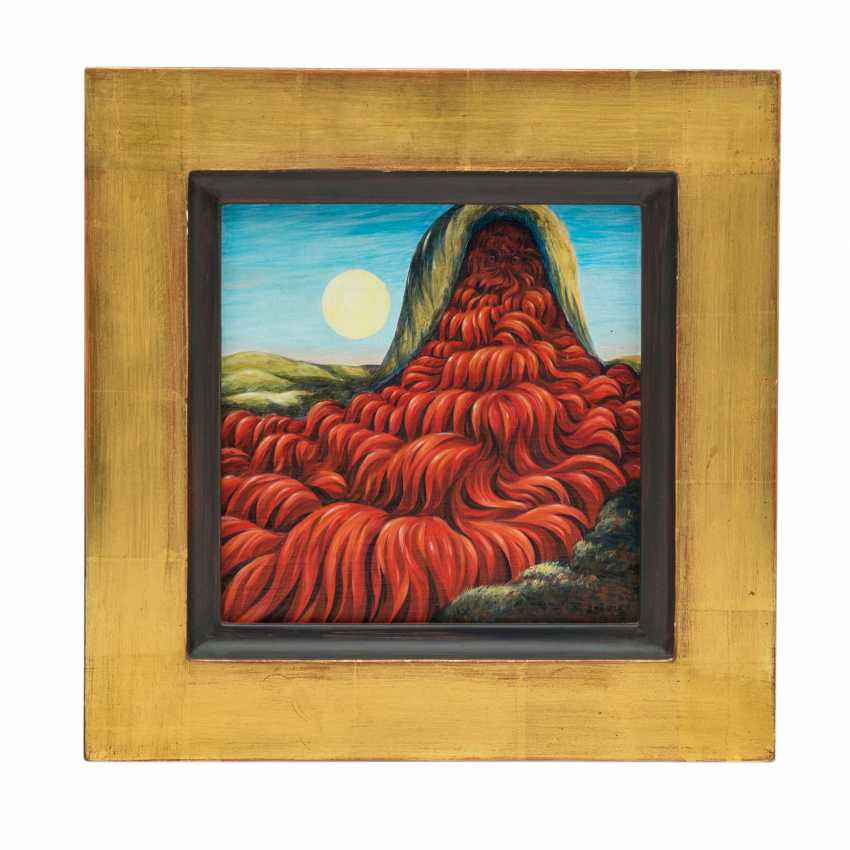 "BÄURLE, HANS (geb. 1931), ""God's Volcano"", - photo 2"