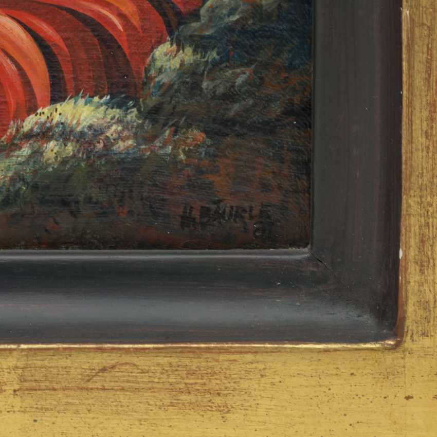 "BÄURLE, HANS (geb. 1931), ""God's Volcano"", - photo 3"