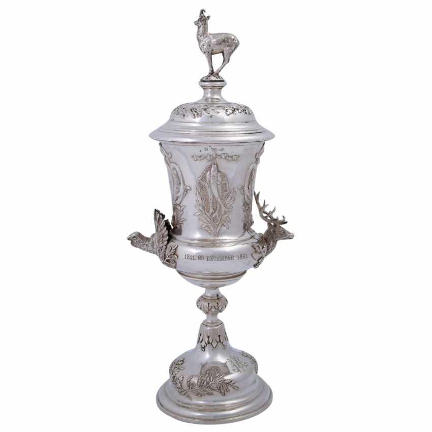 WIEN lid Cup, 800 silver, around 1891. - photo 3