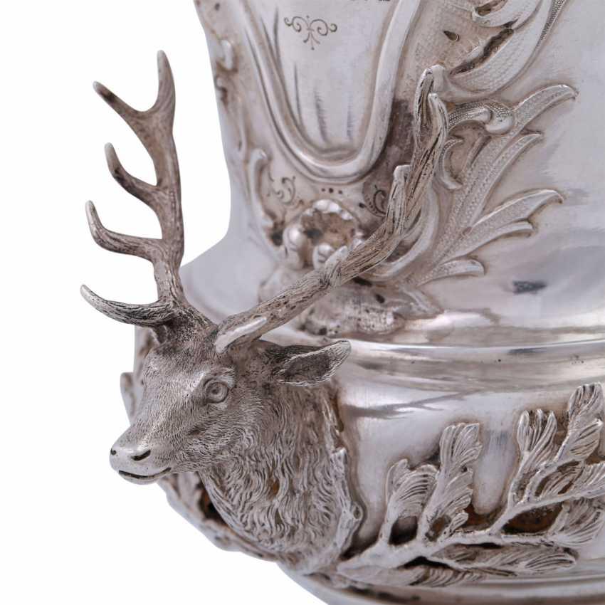 WIEN lid Cup, 800 silver, around 1891. - photo 5