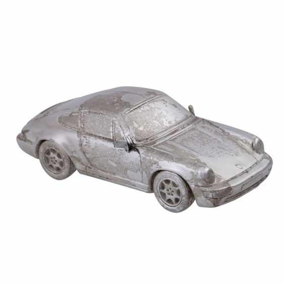 2 Porsche of Miniatures in silver - photo 4