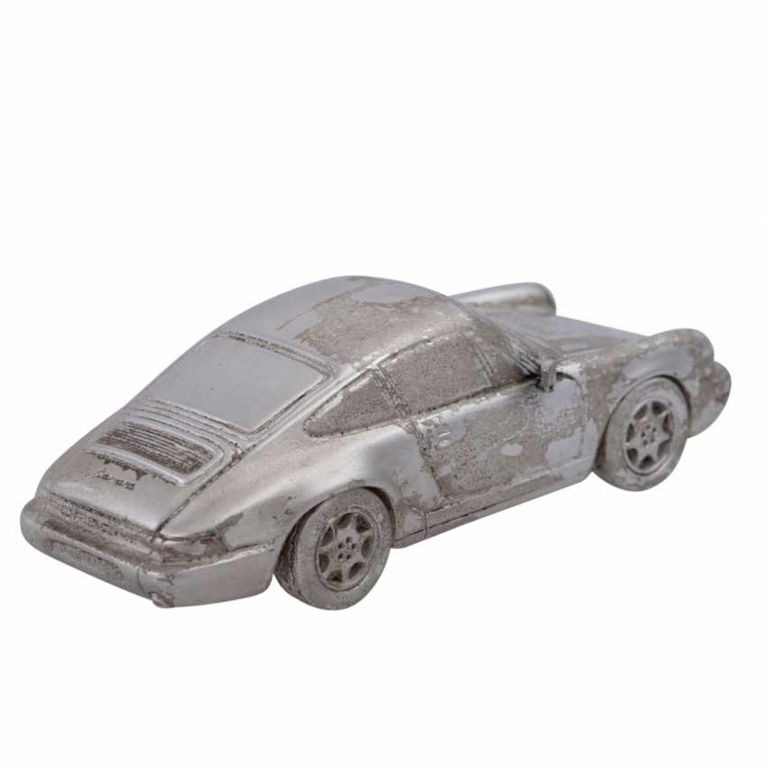 2 Porsche of Miniatures in silver - photo 5