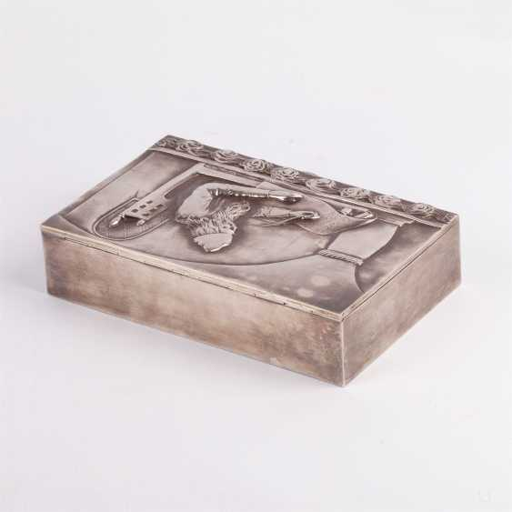 "Cigar box ""Nestor the chronicler"" - photo 3"