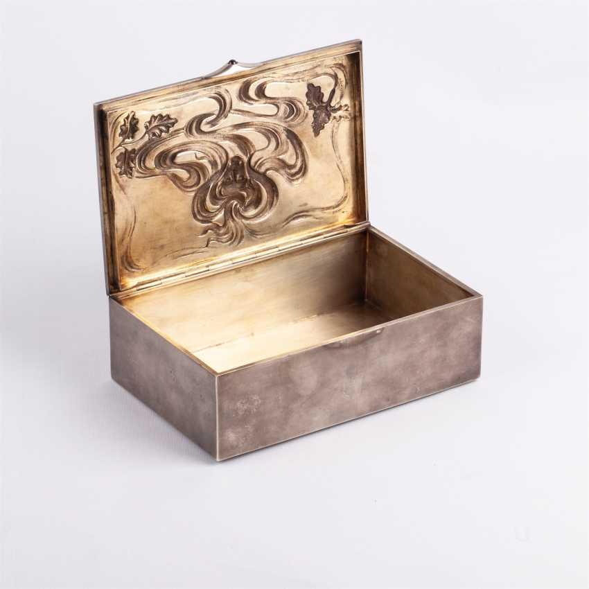 Cigar box art Nouveau - photo 2
