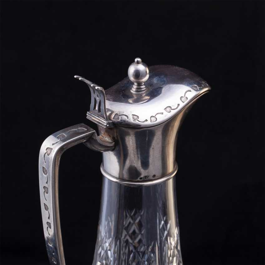 Russian crystal decanter. The first silver artel - photo 3