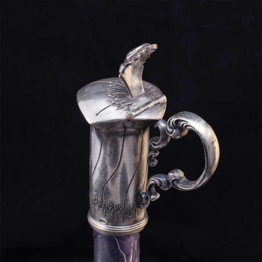 Russian unusual decanter - photo 3