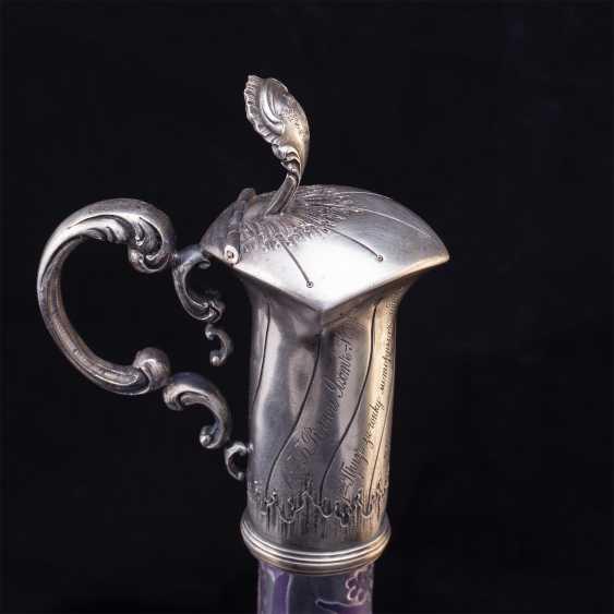 Russian unusual decanter - photo 4