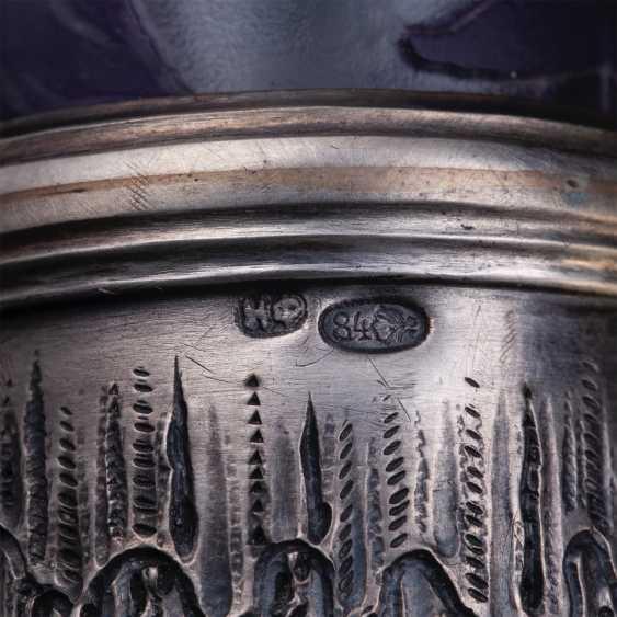 Russian unusual decanter - photo 8