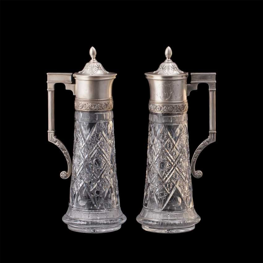 A couple of Russian large decanters. O. Kurlyukov - photo 1