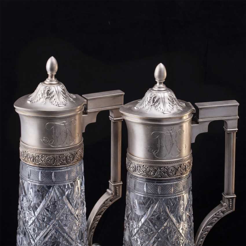 A couple of Russian large decanters. O. Kurlyukov - photo 2