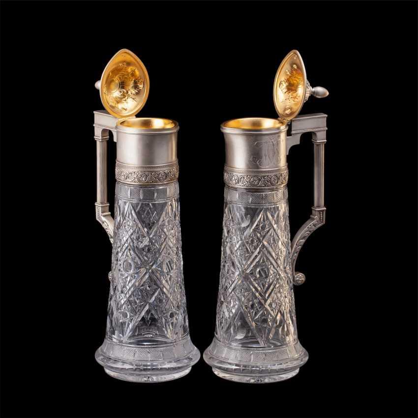 A couple of Russian large decanters. O. Kurlyukov - photo 3