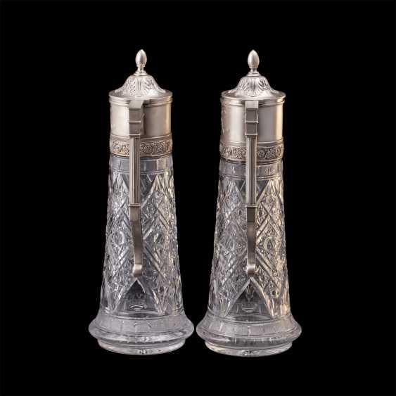 A couple of Russian large decanters. O. Kurlyukov - photo 4