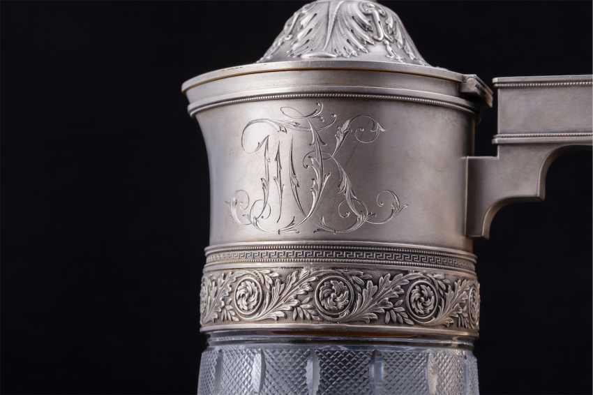 A couple of Russian large decanters. O. Kurlyukov - photo 5