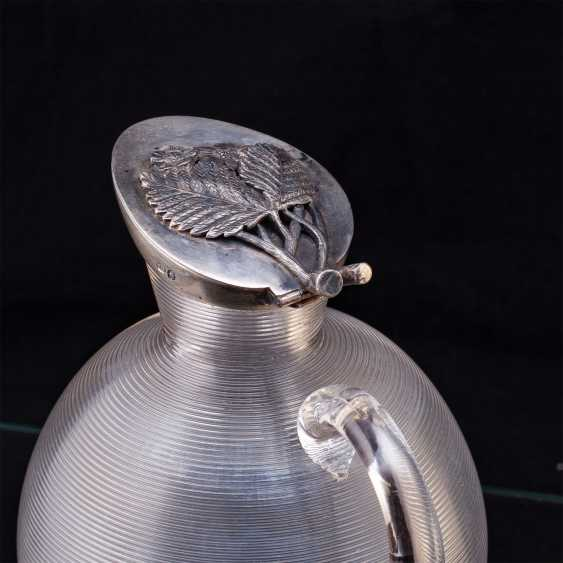 Russian graceful decanter. Faberge - photo 3