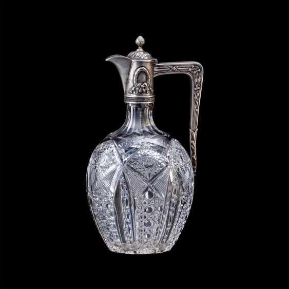 Russian crystal decanter. Fourth Artel - photo 1