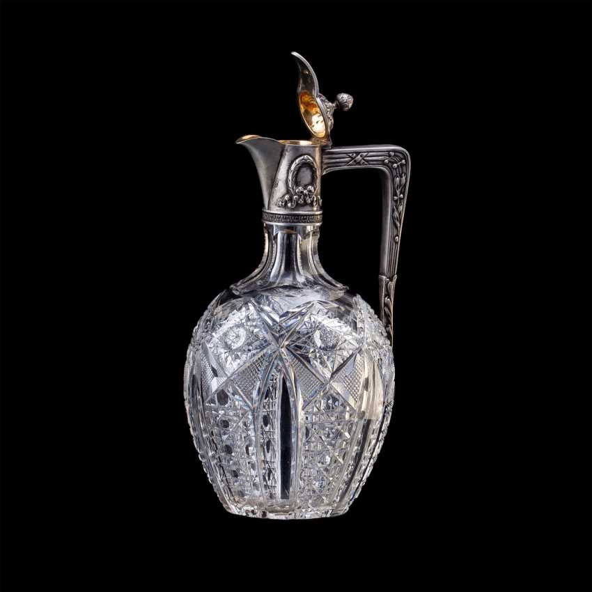 Russian crystal decanter. Fourth Artel - photo 2