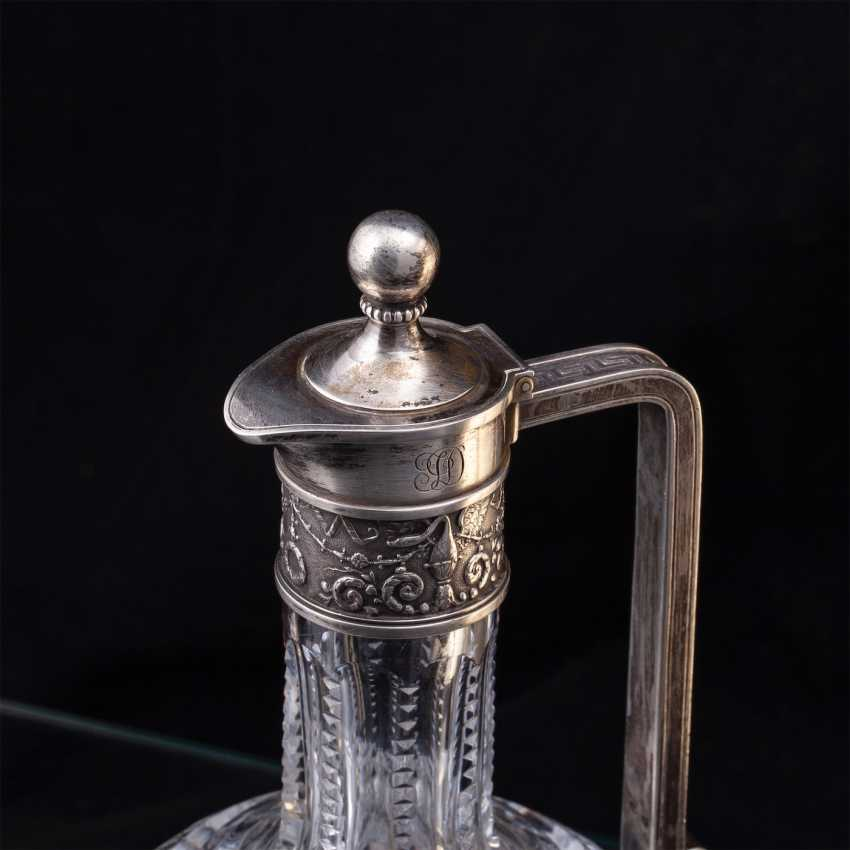 Pair of crystal decanters. Faberge - photo 3