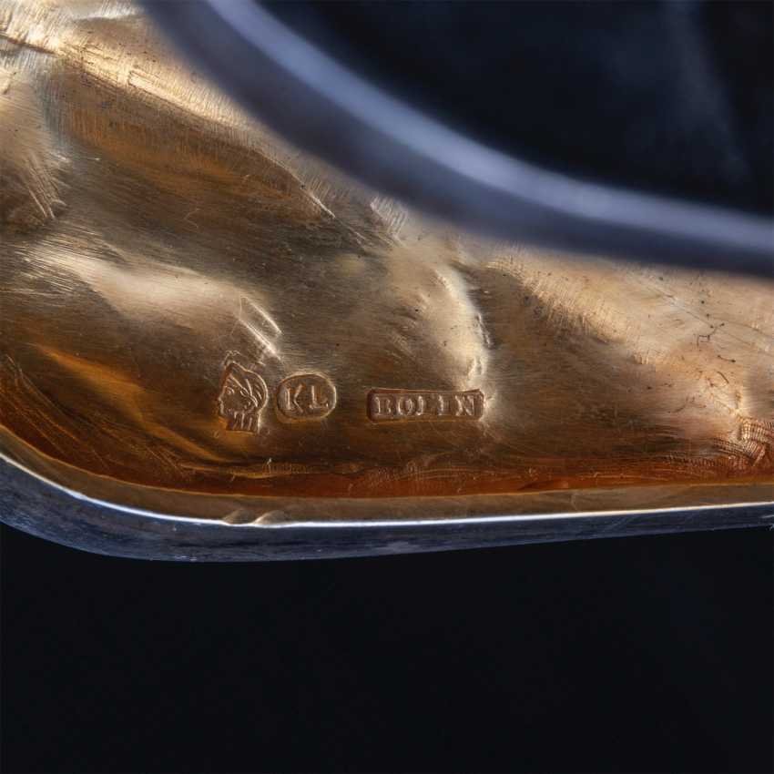 Pair of rare crystal decanters. K. Linke - photo 3