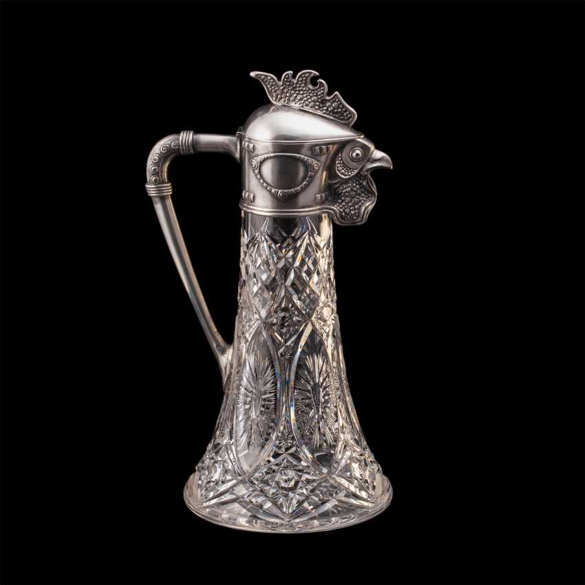 Rare crystal decanter. Faberge - photo 2