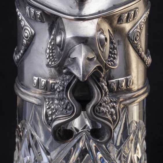 Rare crystal decanter. Faberge - photo 4