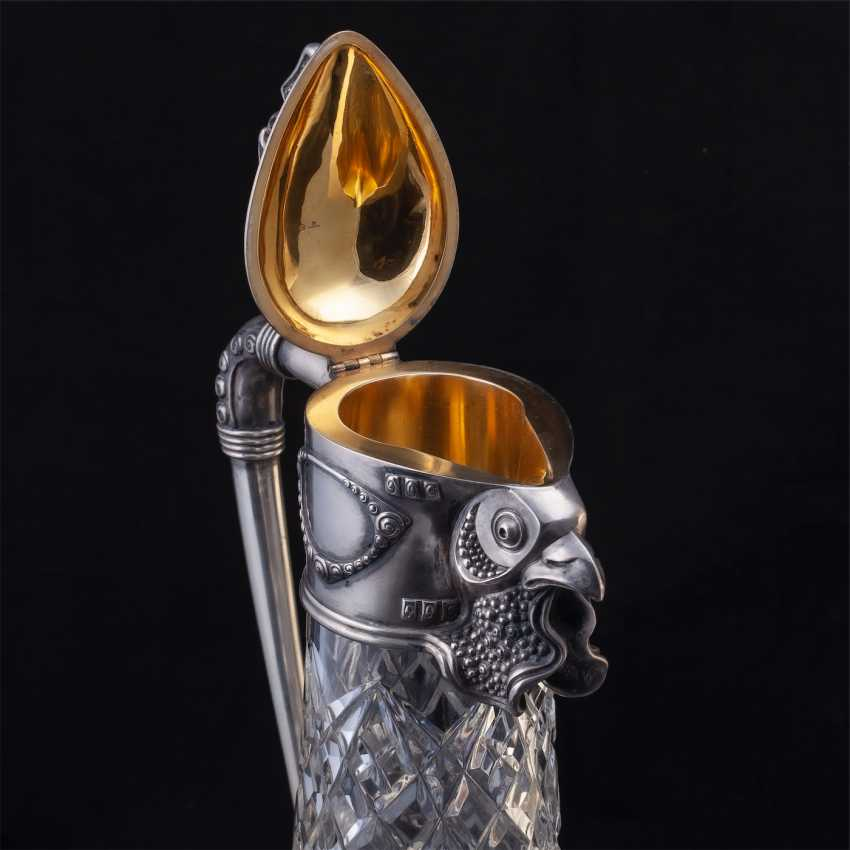 Rare crystal decanter. Faberge - photo 5