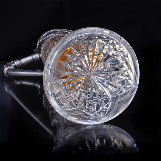 Rare crystal decanter. Faberge - photo 8