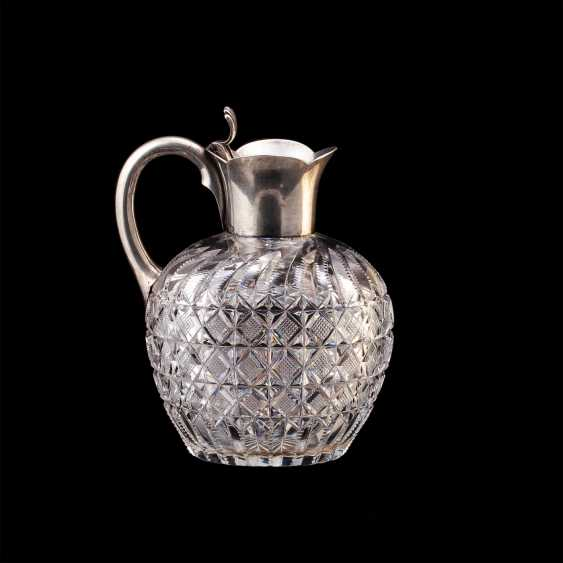 Small Russian crystal decanter. Bolin - photo 1