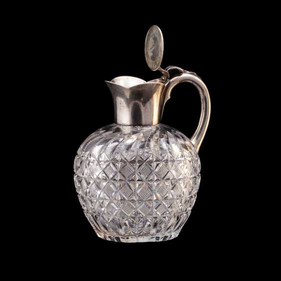 Small Russian crystal decanter. Bolin - photo 2