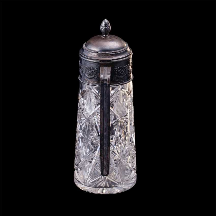 Large Russian crystal decanter. Grachev Brothers' - photo 2