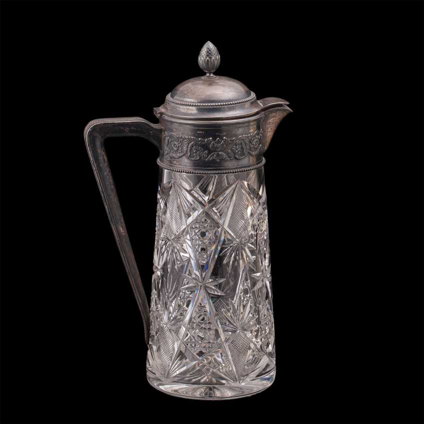Large Russian crystal decanter. Grachev Brothers' - photo 3
