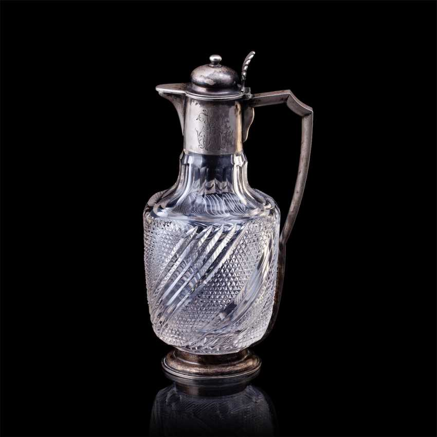 Russe de cristal carafe. Pétersbourg - photo 1