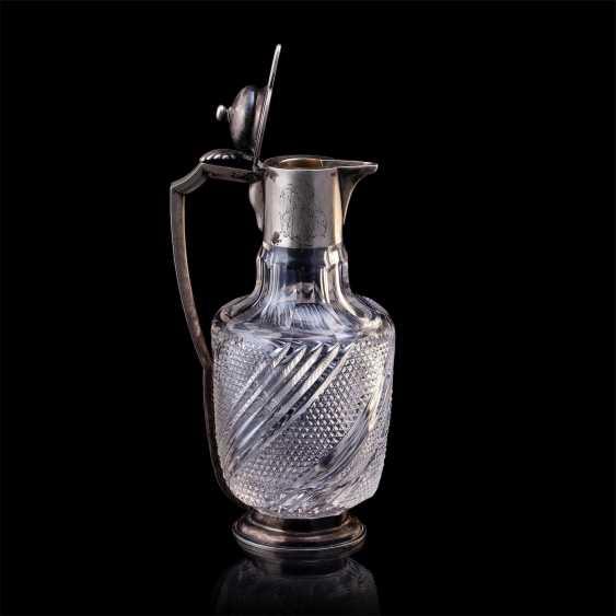 Russe de cristal carafe. Pétersbourg - photo 2